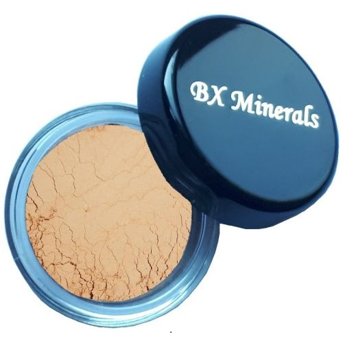 BX Minerals Honey Medium foundation sample