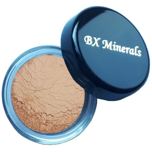 BX Minerals Tan foundation sample